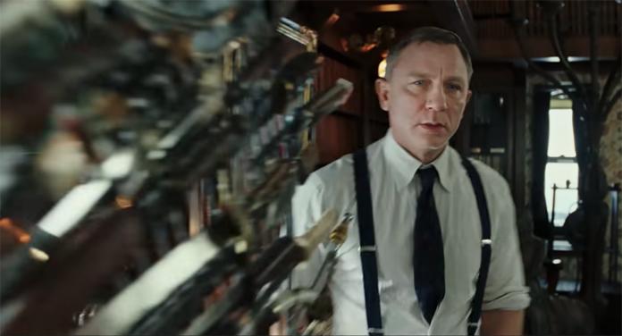 Daniel Craig dans le film A couteaux tirés