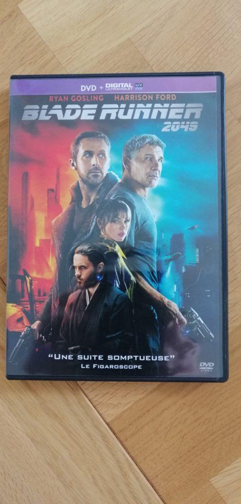 La jaquette de Blade Runner 2049