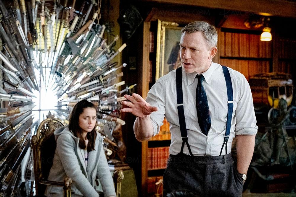 Daniel Craig et Ana de Armas dans A couteaux tirés