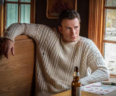 Chris Evans dans le film A couteaux tirés