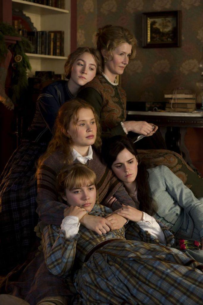 Marmie et les quatre filles dans le film les filles du Docteur March